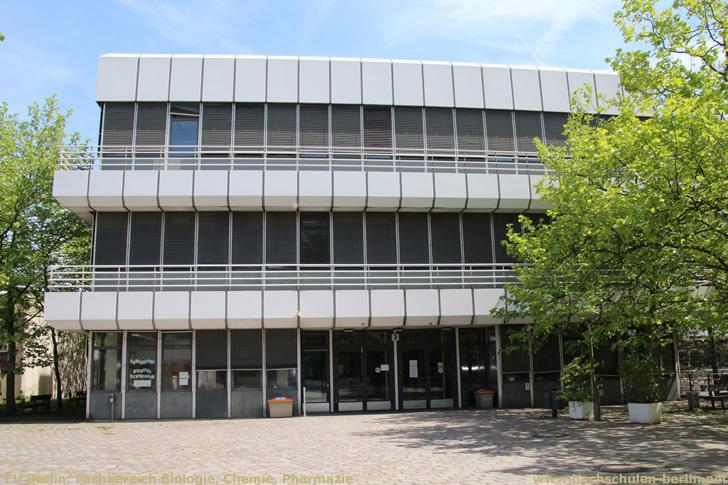 FU Berlin: Fachbereich Biologie, Chemie, Pharmazie