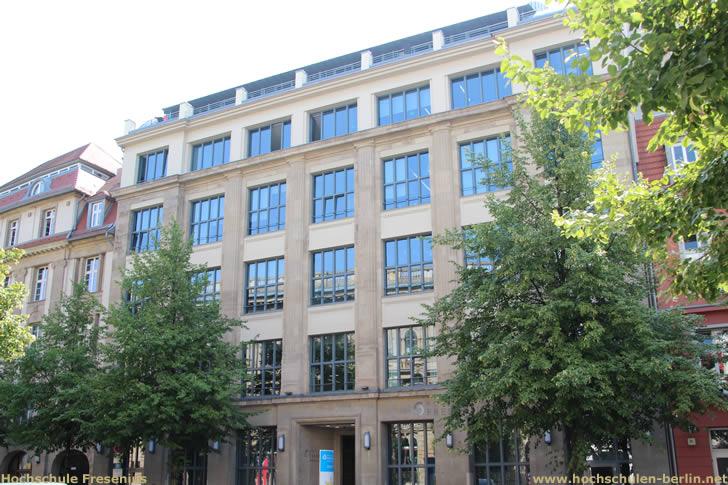 Hochschule Fresenius - Campus Berlin - Jägerstraße 32