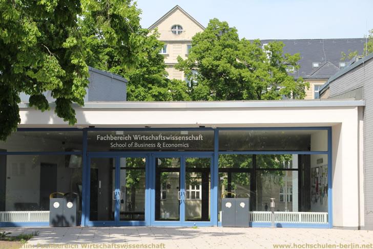 FU Berlin: Fachbereich Wirtschaftswissenschaft