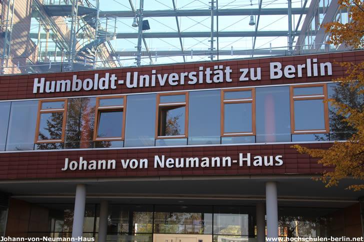 Johann-von-Neumann-Haus - Campus Adlershof