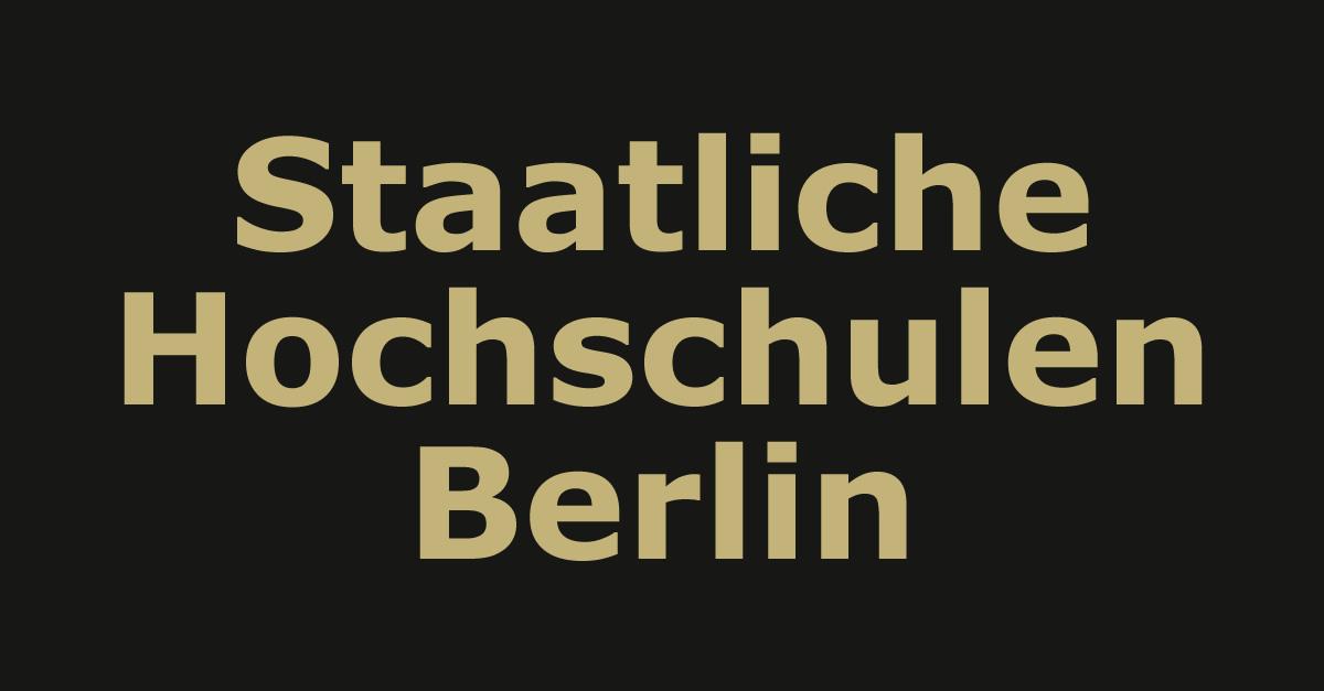 Staatliche Hochschulen Berlin
