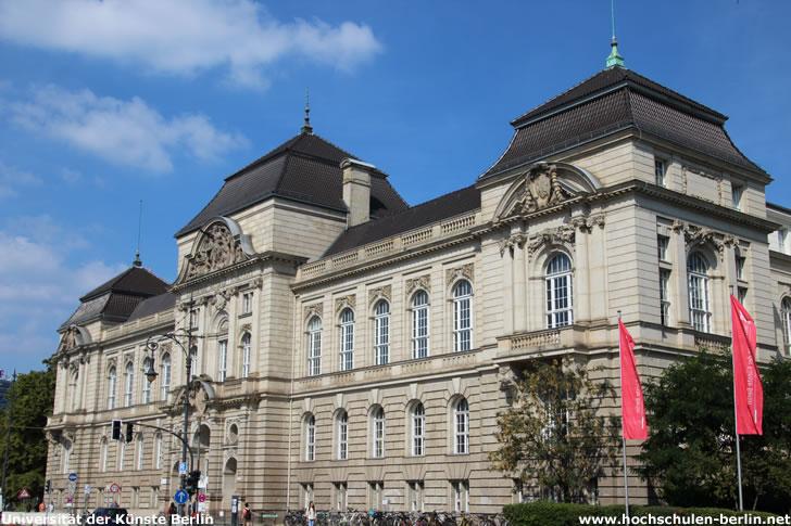 Universität der Künste Berlin - Hauptgebäude Hardenbergstraße