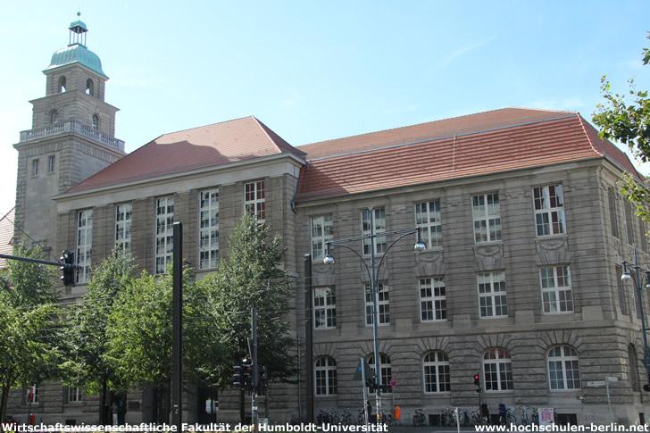 Wirtschaftswissenschaftliche Fakultät der Humboldt-Universität